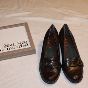 A2 by Aerosoles 7.5 Brown dress shoes